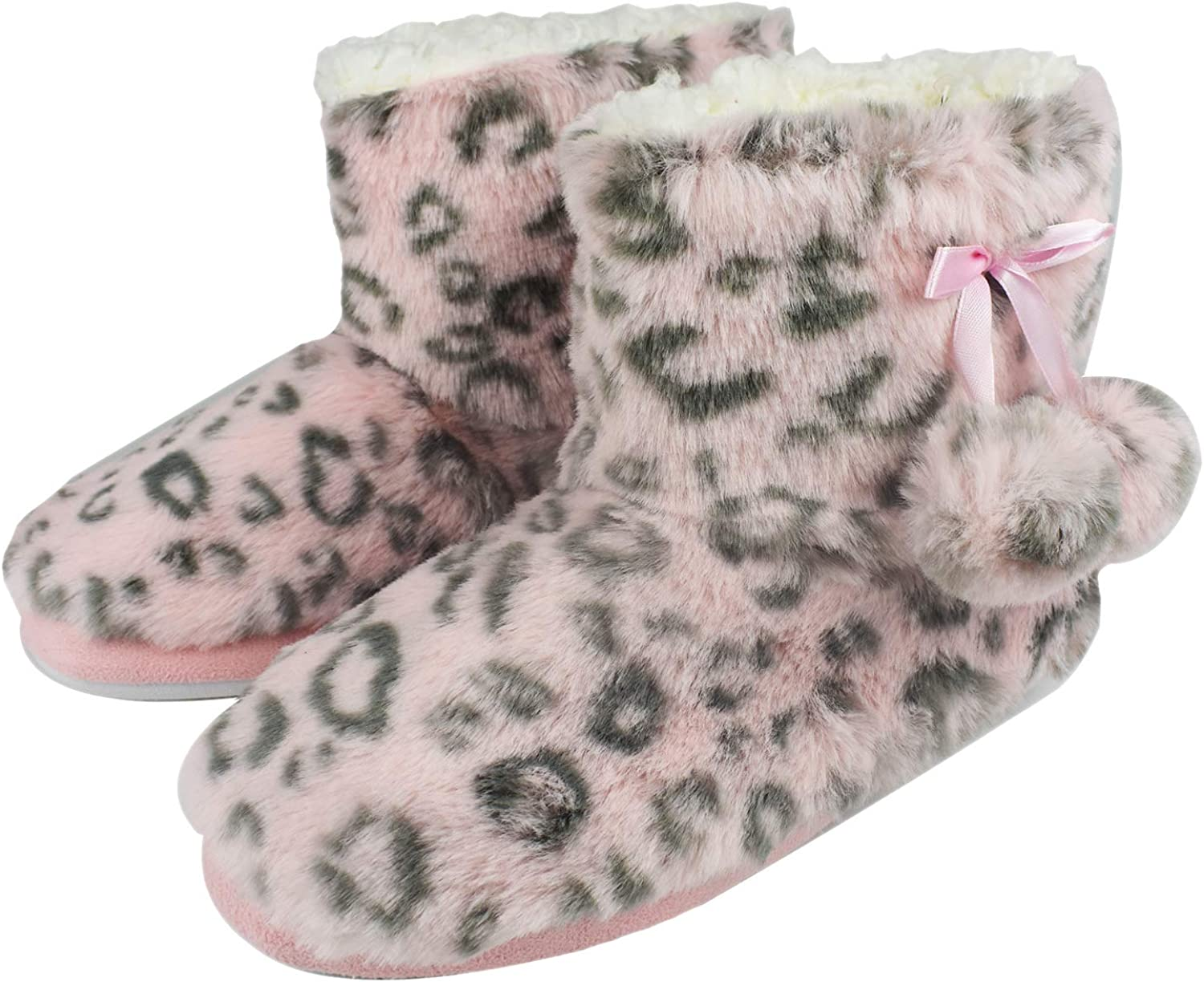 Tirzrro Girls Kids Cute Slippers with Warm Plush Fleece Free Baltimore Mall shipping New Indoor O