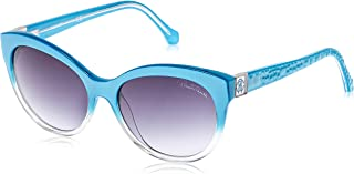 Roberto Cavalli Women's RC798S Cateye Sunglasses Turquoise 57 mm