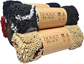 My Doggy Place - Ultra Absorbent Microfiber Dog Door Mat, Durable, Quick Drying, Washable, Prevent Mud Dirt, Keep Your House Clean
