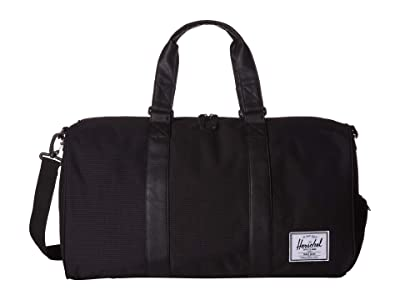 Herschel Supply Co. Novel (Dark Grid/Black) Duffel Bags