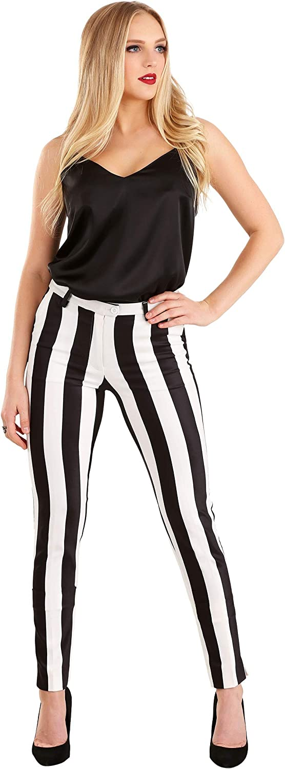 Fun Costumes Women's Super-cheap Pants Beetlejuice Safety and trust Suit