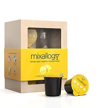 Mixallogy Lemon Drop Powdered Cocktail Mix & Mini Shaker Set - 6 Servings