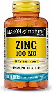 Mason Natural, Zinc, 100 mg, 100 Tablets