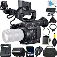 Canon EOS C200 Cinema Camera -EF-Mount International Model (2215C002) Bundle