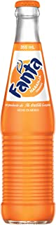 Mexican Fanta Orange Glass Bottle, 12 fl oz, 24 Pack