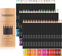 Soucolor 160 Colored Pencils Set Artist Drawing Coloring Pencils for Coloring...