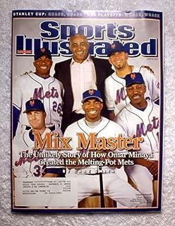 Orlando Hernandez, Omar Minaya, Willie Randolph, Endy Chavez, Oliver Perez & John Maine - New York Mets - Mix Master - Sports Illustrated - June 18, 2007 - SI
