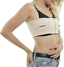 Abergele Breast Pump Band – Hands Free Pumping - Adjustable, Strapless Expression Bustier, Fits Over All Nursing Bras - 100% Premium, Ultra Soft Pima Cotton