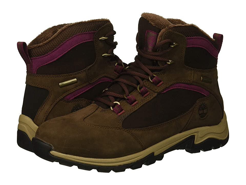 Timberland Mt. Maddsen Winter Waterproof Insulated (Dark Brown Nubuck) Women