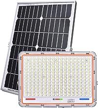 Zonne-overstroming lichten buiten bewegingssensor 100 W 200 W 300 W 400 W 500 W, waterdichte lens zonne-verlichting outdoo...