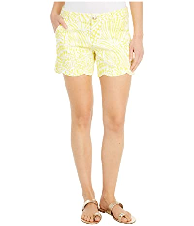 Lilly Pulitzer Palmita Stretch Shorts (Lillys Lemon Sea Cups) Women