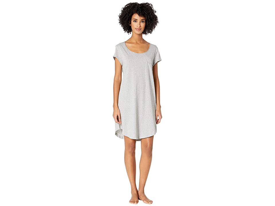 Skin 35 Sleep Shirt in Length (Heather Grey) Women
