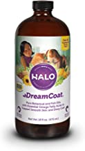 product image for Halo Dream Coat Natural Omega Fatty Acids Supplement for Dogs & Cats, 16-Ounce Bottle