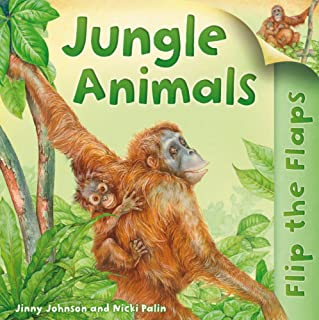 Flip the Flaps: Jungle Animals
