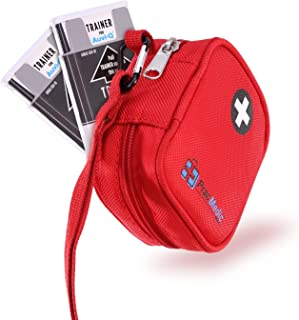 PracMedic Bags Medicine Carrying Case- Holds Auvi Q, Nasal Spray, Eye Drops or Antihistamine Tablets- Insulated Medical Po...