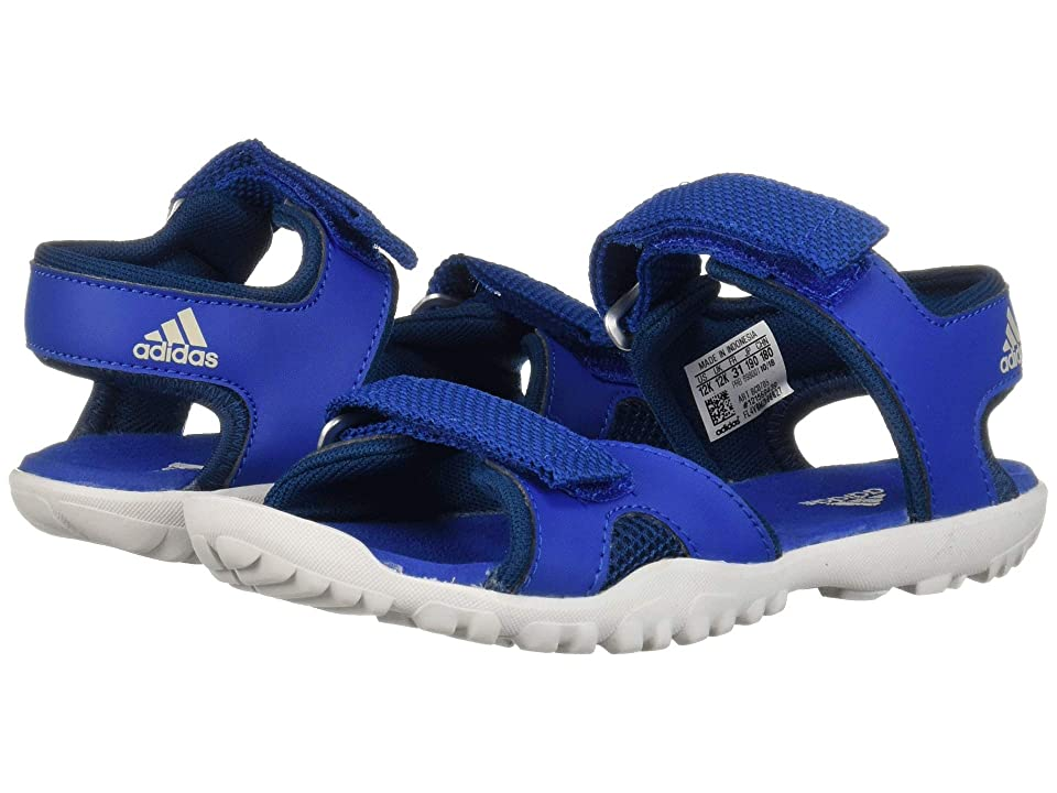 Image of adidas Outdoor Kids Sandplay OD (Toddler/Little Kid/Big Kid) (Blue Beauty/Legend Marine/Grey One) Boys Shoes