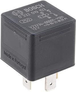 Bosch 0332019103 Mini Relais 12V 30A, IP5K4, Betriebstemperatur von  40° bis 100°, Schließer Relais, 5 Pins