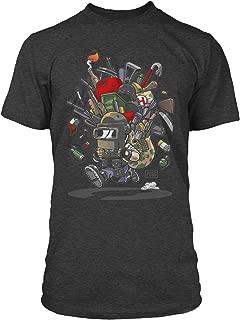 PUBG Looted Men's Gamer Tee Shirt