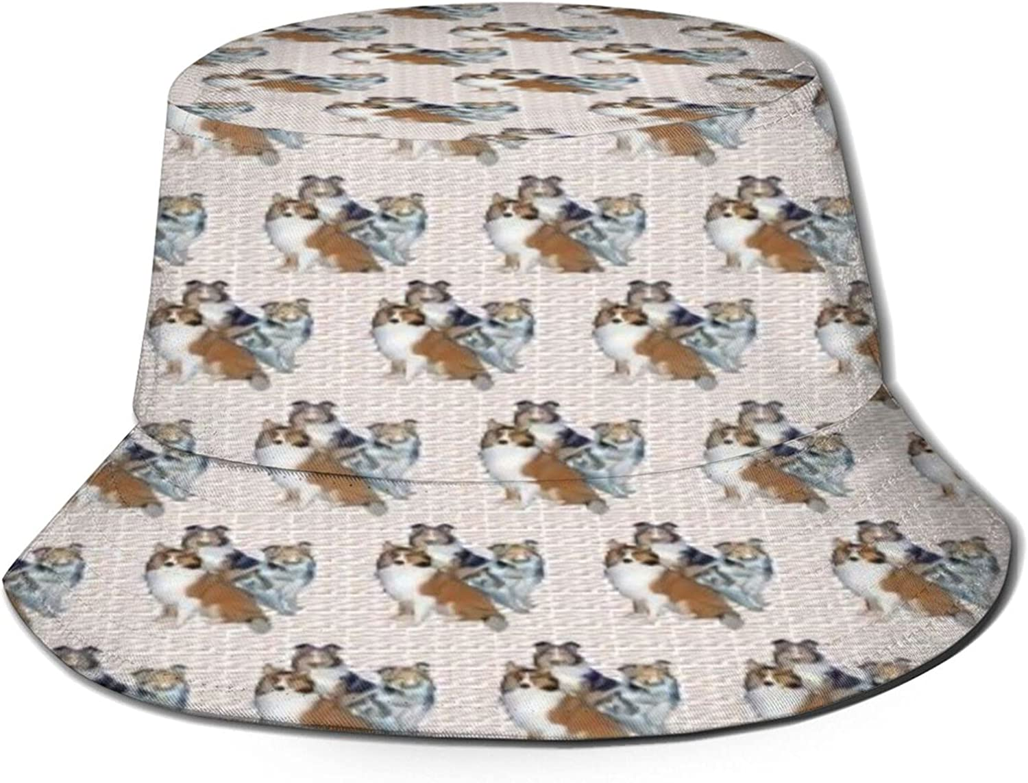 Shelties and Bones Bucket Hat Packable Sun Fis Outlet ☆ Free Shipping Summer Nashville-Davidson Mall Unisex