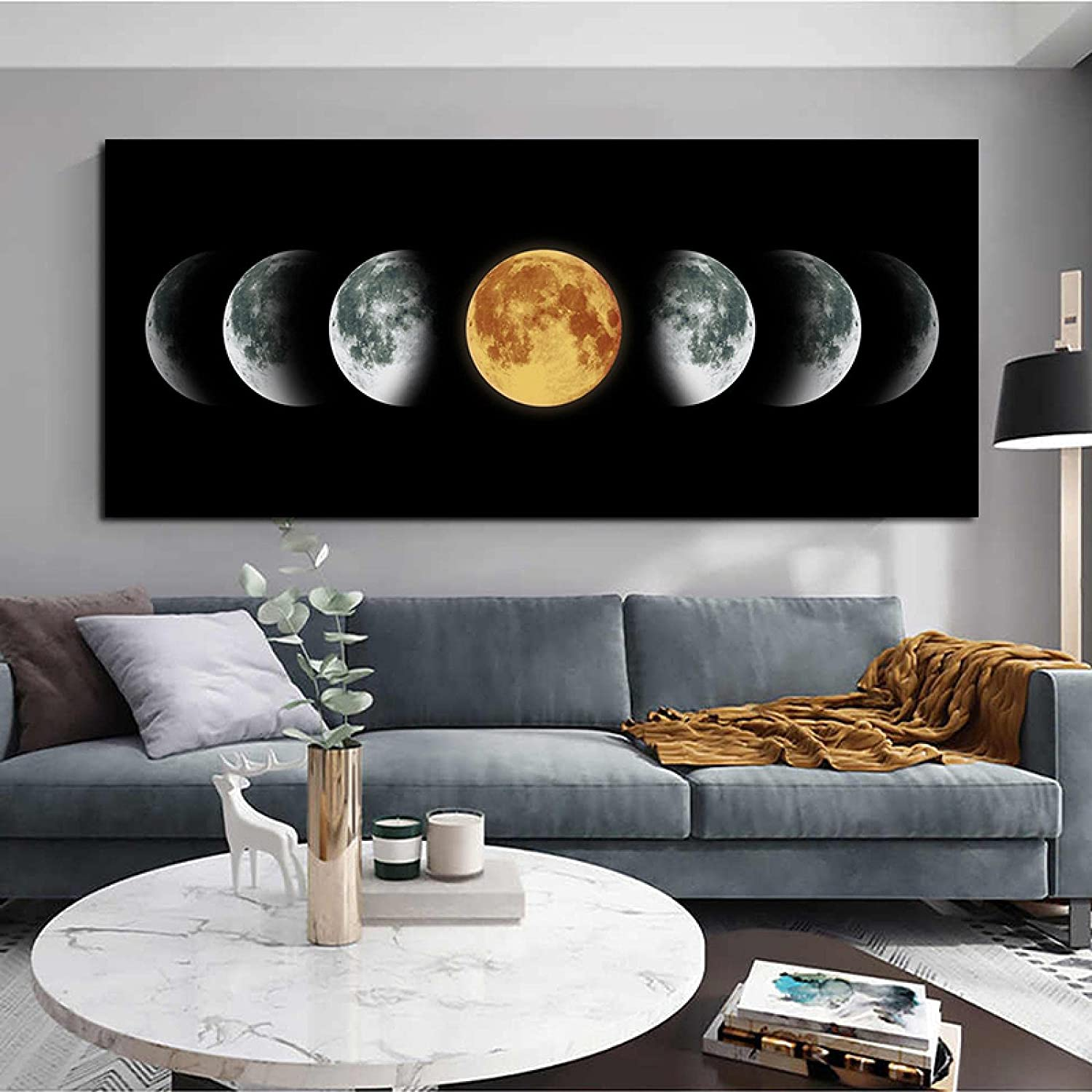 Moon Posters Opening large release sale Space Superlatite Canvas Prints Wall Livi Pictures Abstarct Art
