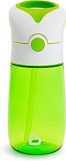 Munchkin Flip and Go Tritan Straw Cup, 12 Ounce, Green