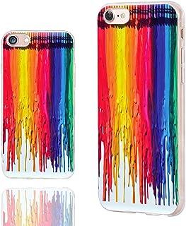 CHICHIC iPhone 8 Case Cute,iPhone 7 Case Cool, [Orignal Series] Anti-Scratch Slim Flexible Soft TPU Rubber Cases Cover for...