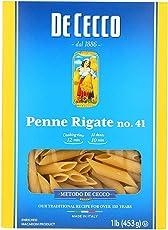 DeCecco Pasta Penne Rigate 16.0 OZ(Pack of 12)