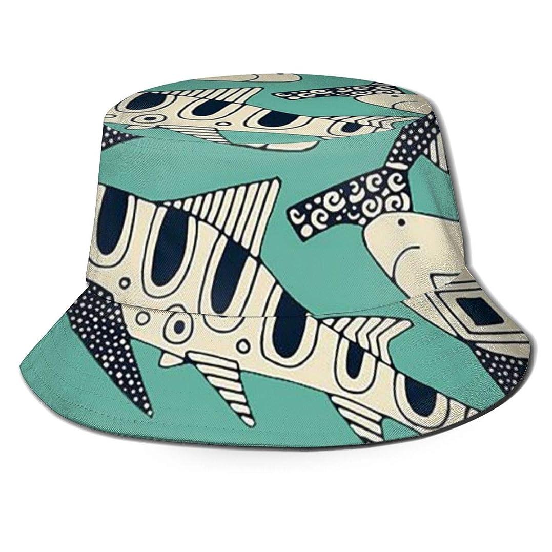 イソギンチャク引く自殺Aiwnin 漁師の帽子 サンハット 日よけ帽 紫外線保護 釣り 登山 農作業 通気性がいい