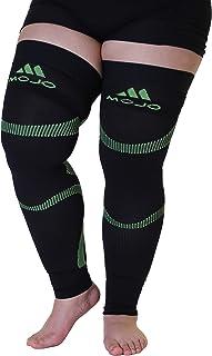 5XL Mojo Compression Stockings Medical Thigh Leg Sleeve Firm 20-30mmHg Black/Green