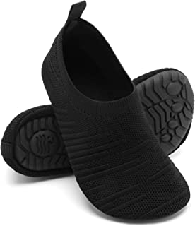 Sponsored Ad - Girls-Boys-Slippers Lightweight Kids-House-Shoes Comfy Anti-slip Home Bedroom-Shoes Knitted-Socks Indoor-Ou...