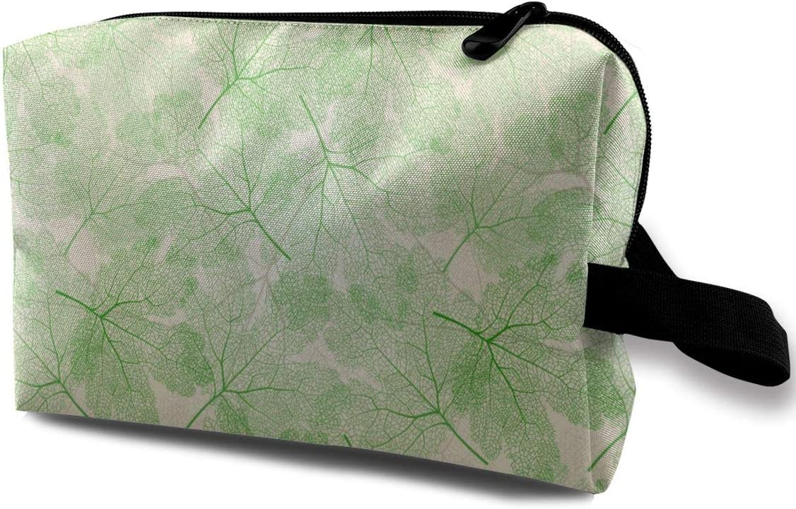 QiiRy Green Leaves Pattern Portable Dust-Proof Travel Max 43% OFF Bags Organ Max 56% OFF