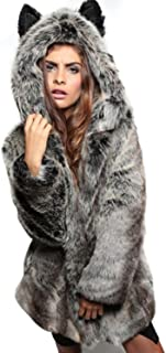 Best wolf fur jacket Reviews