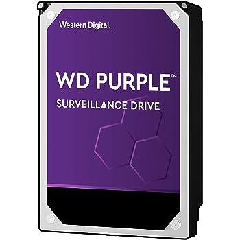 """WD Purple 1TB Surveillance Hard Drive - 5400 RPM Class, SATA 6 Gb/s, 64 MB Cache, 3.5"""" - WD10PURZ"""