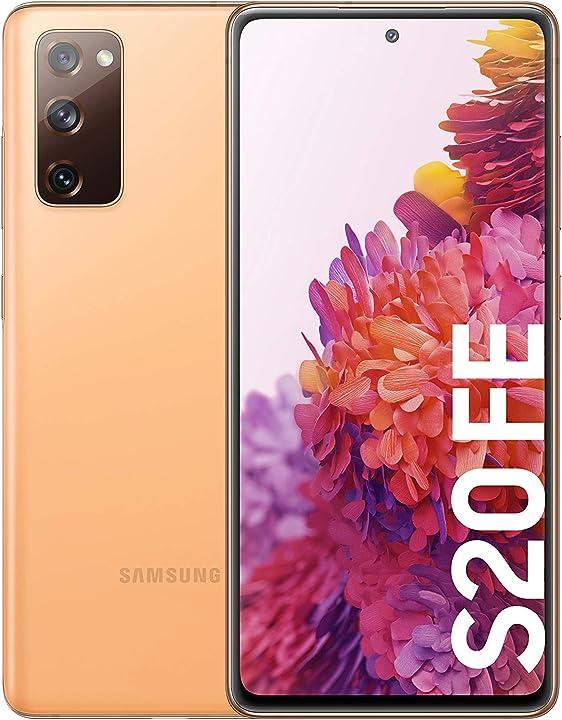 Smartphone samsung galaxy s20 fe smartphone 128 gb arancione SM-G780FZODEUB