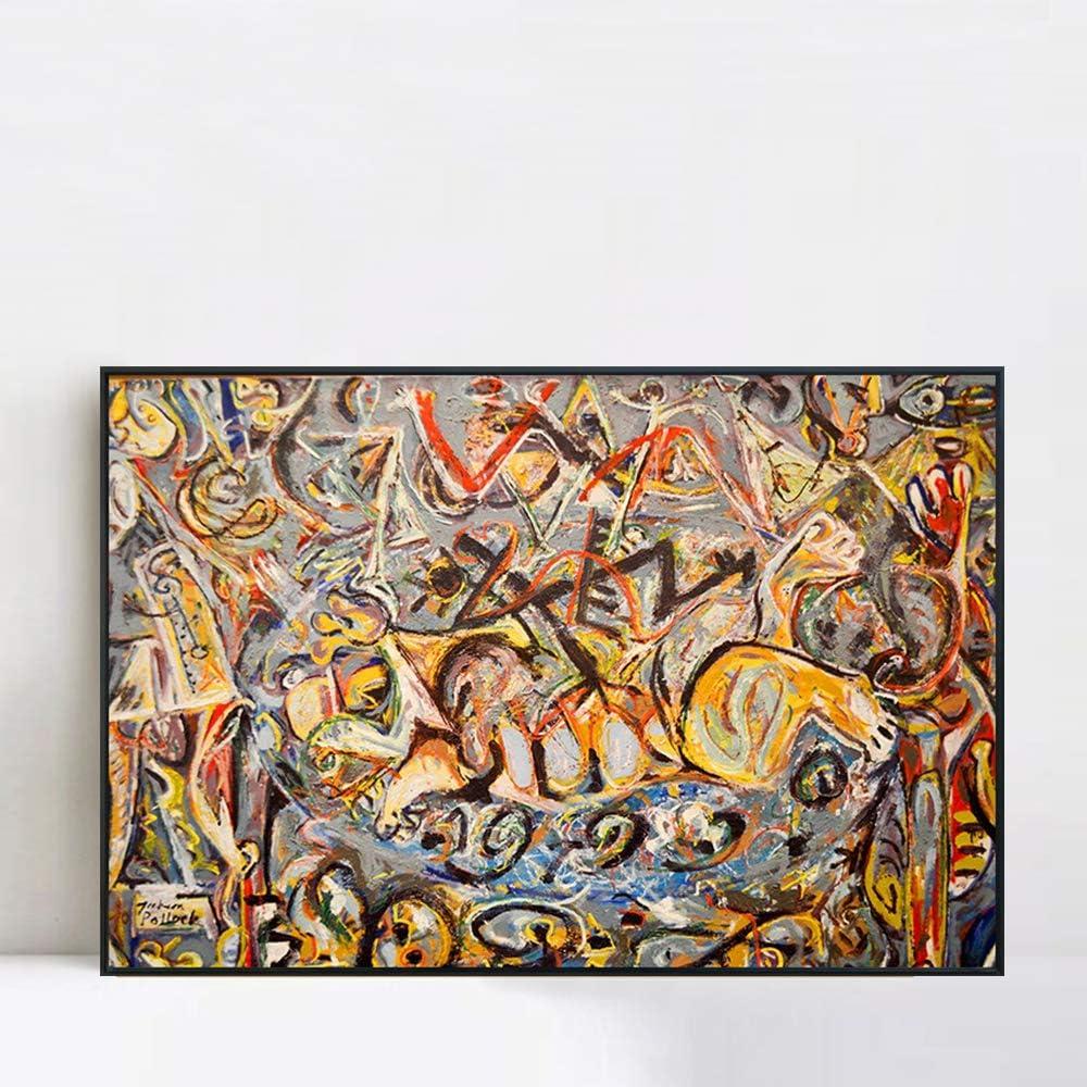 INVIN ART Framed Canvas Giclee 送料無料限定セール中 Print by J Art Series#21 買取 Abstract