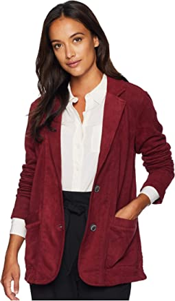 Truly Sueded French Terry Boyfriend Blazer