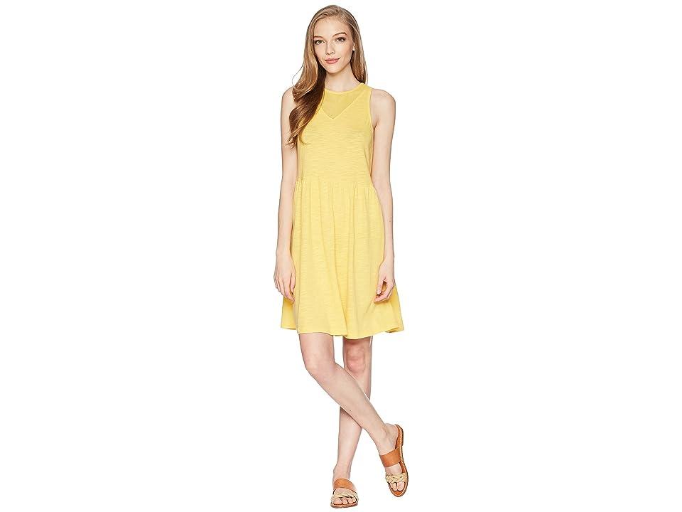 Roxy Tucson Dress (Buff Yellow) Women