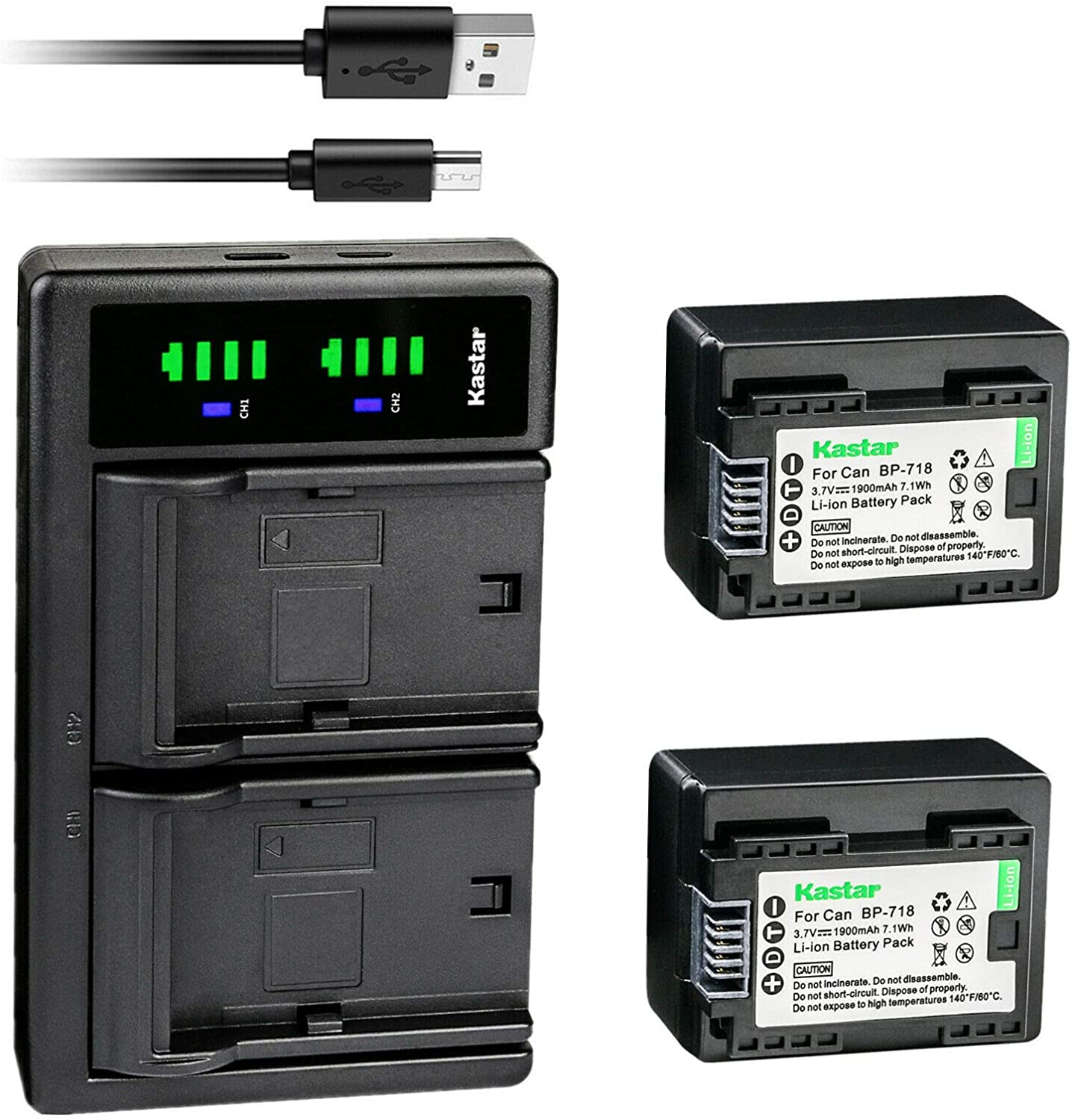 Luxury Kastar 2-Pack Battery and LTD2 for Charger Save money Canon USB Replacement