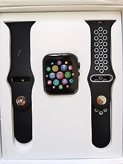 ساعة يد ذكية T5s الاصدار 5 بخاصية اجراء المكالمات بتقنية البلوتوث واي سي جي ومراقبة معدل ضربات القلب لجوالات اندرويد واي ا...