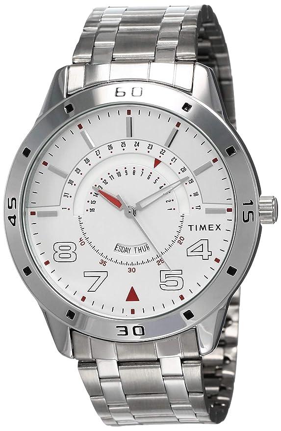 Timex Analog Silver Dial Men's Watch TW000U904