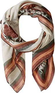 Michael Stars Women's Isabella Oasis Floral Square Scarf