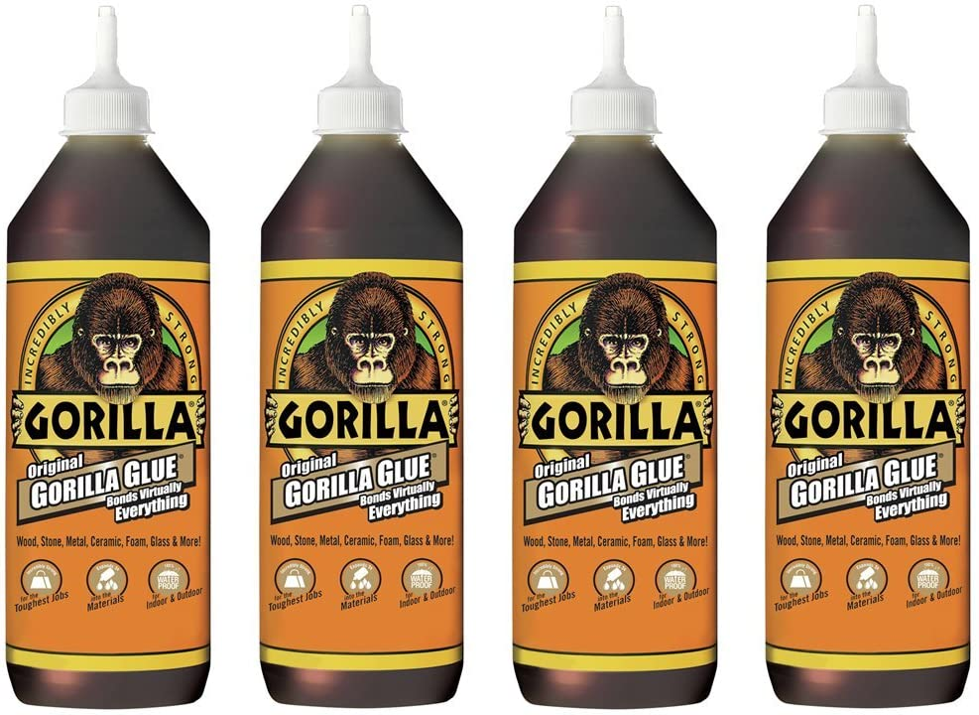 Gorilla Original Max 58% OFF Waterproof Polyurethane Bottle 36 store ounce Glue