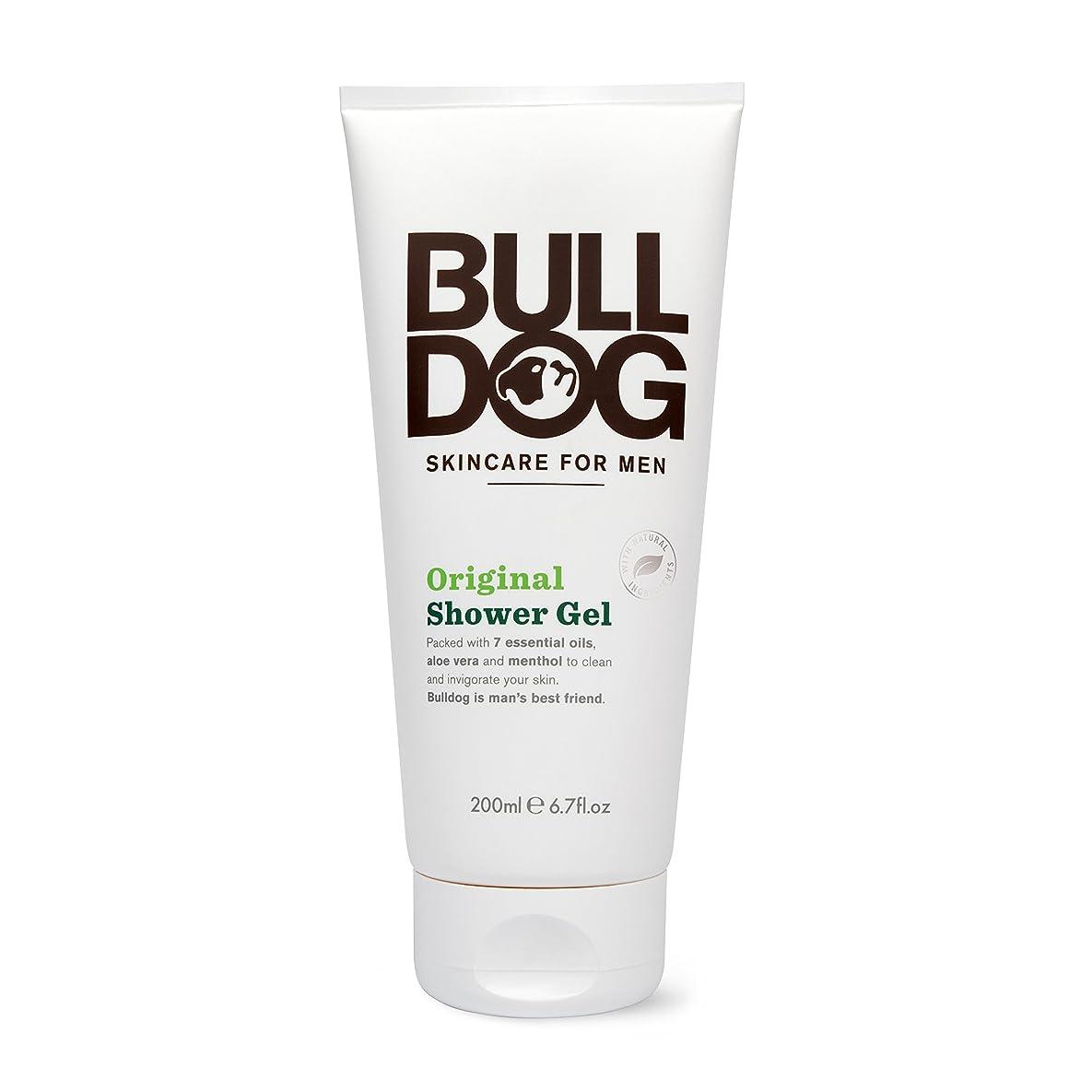 真夜中黒板共感するブルドッグ Bulldog オリジナル シャワージェル(ボディ用洗浄料) 200mL