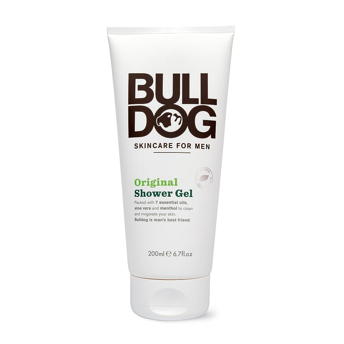 ラック境界くつろぐブルドッグ Bulldog オリジナル シャワージェル(ボディ用洗浄料) 200mL