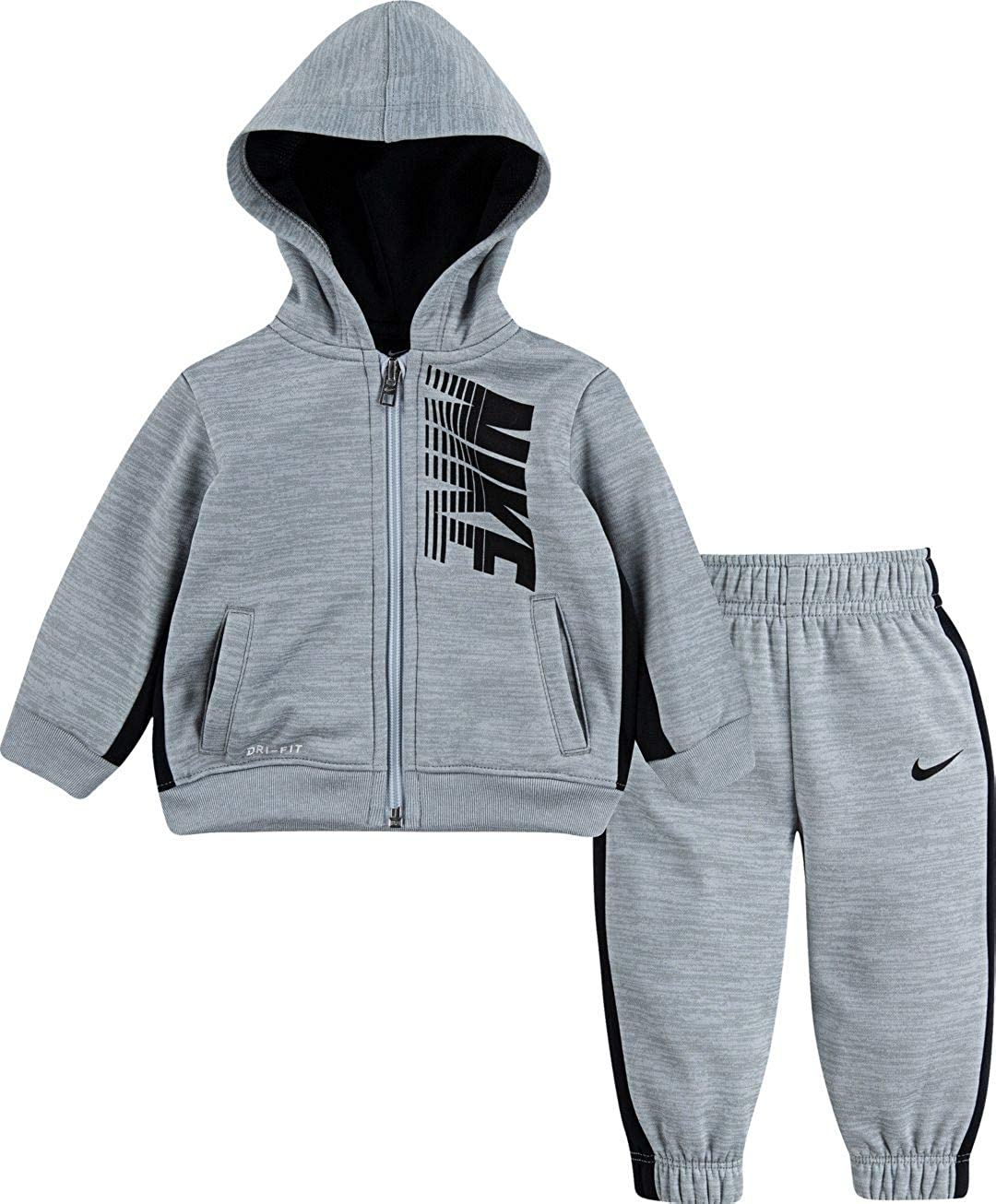 Cheap SALE Start Nike Kids Sales for sale Boy's Therma-Fit Color Block Jacket Zip and Jogge Full