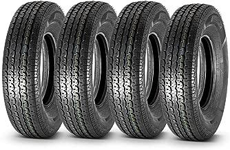 MaxAuto Premium Radial Trailer Tires ST235/80R16 10PR Load Range E, Set of 4