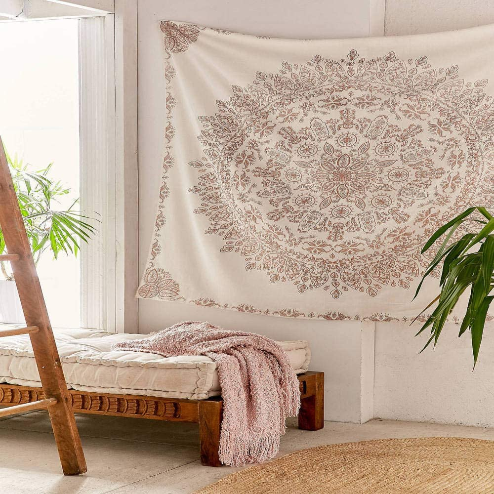 Hippie Mandala Wall Hanging Tapestries Bohemian Wall Hanging Home Decoration For Bedroom Living Room Amazon Ca Home Kitchen