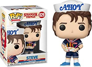 Funko Pop! Television: Stranger Things Steve with Hat & USS Butterscotch Exclusive