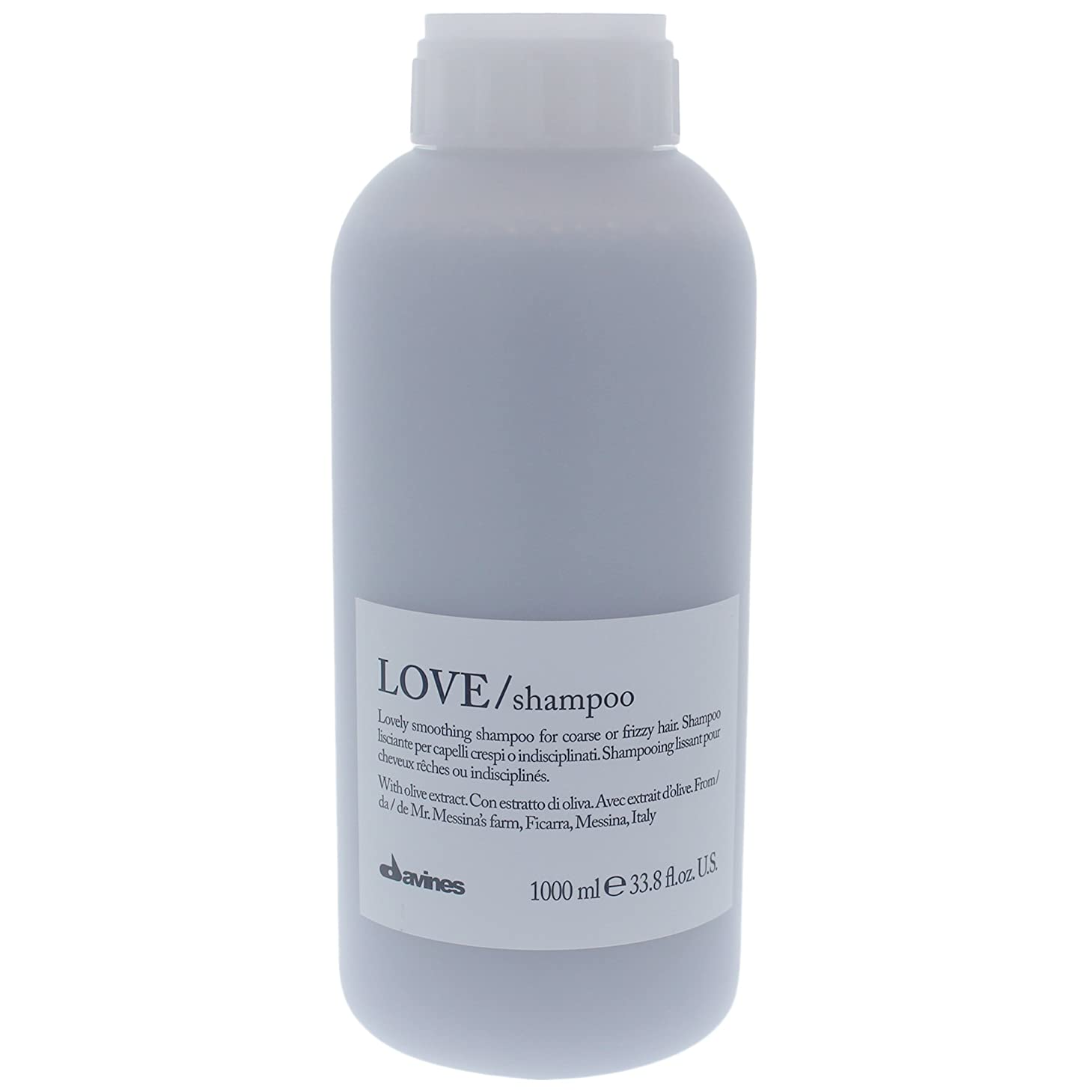 アレルギー性箱馬鹿Davines Love Lovely Smoothing Shampoo for Harsh & Frizzy Hair [並行輸入品]
