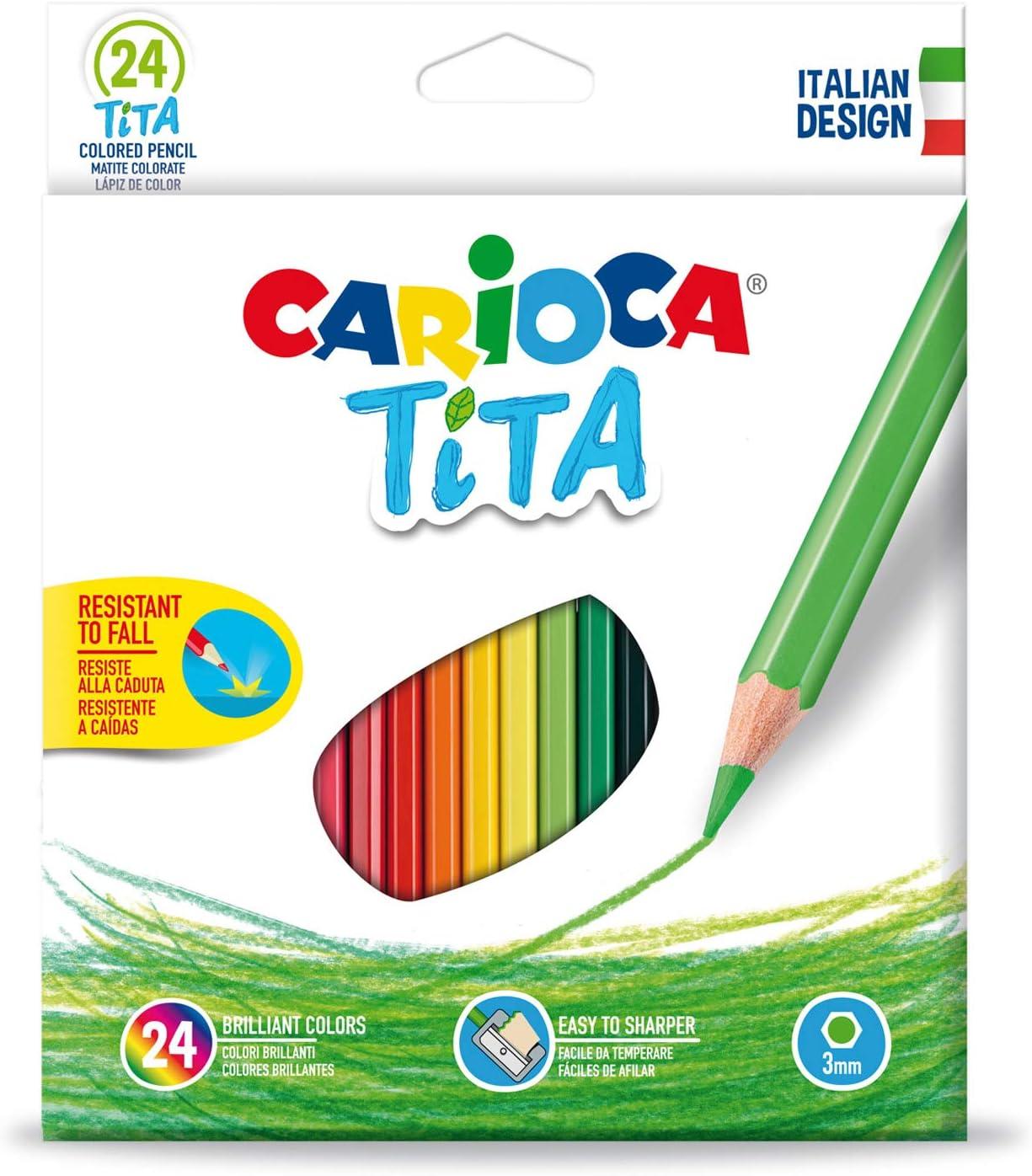 Carioca A52702524 - Pack de 24 lápices